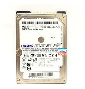 Hd 2.5 160gb Ide Samsung Para Notebook Novo Com Garantia