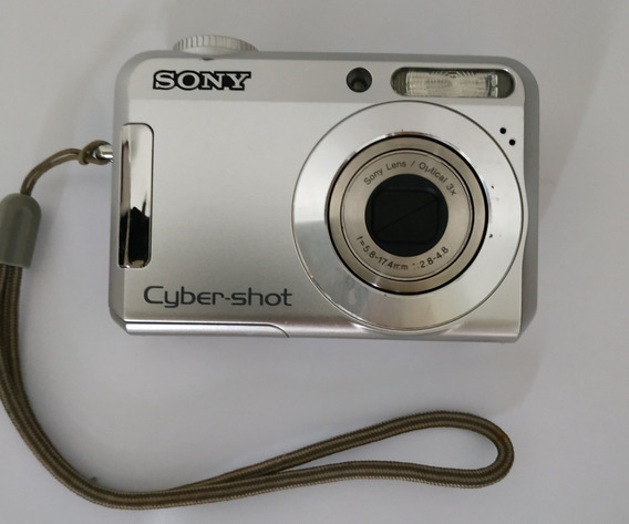 Camera Cyber-shot Sony 7.2 Mega Pixels