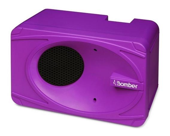 Caixa De Som Portátil Bluetooth My Bomber Roxo 1.92.005