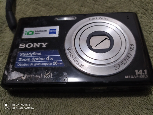 Imagem 1 de 4 de Camera Digital Sony Cybershot