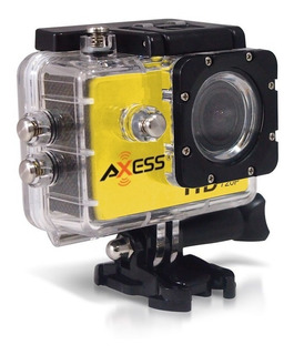 Camara Deportiva Axess Hd Sumergible Accesorios Action Cam