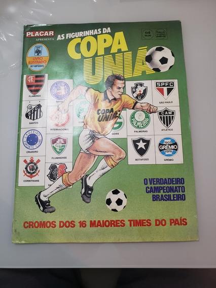 Álbum De Figurinhas Copa União 1987 Completo