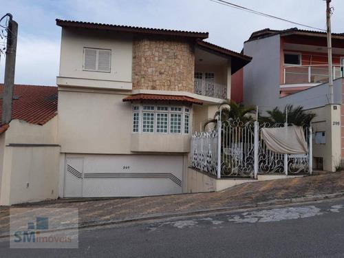 Casa Com 4 Dormitórios À Venda, 459 M² Por R$ 1.250.000 - Parque Dos Pássaros - São Bernardo Do Campo/sp - Ca0404