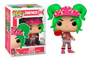 Funko Pop Fortnite Zoey Original Distribuidora Lv