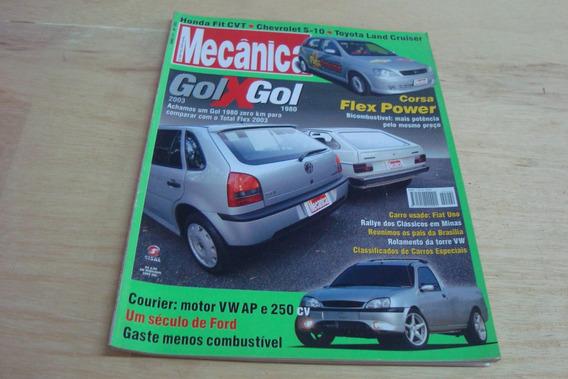 Revista Oficina Mecanica 202 / Chevrolet Corsa Courier Rally
