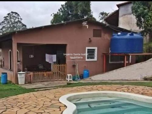 Imagem 1 de 14 de Vende-se Casa C Piscina Chac. Boa Vista- Santa Isabel- Sp815