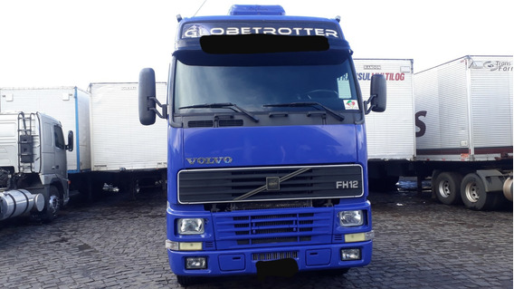 Volvo Fh Globetrotter 380 Completo Top 2002 6x2 Impecavel
