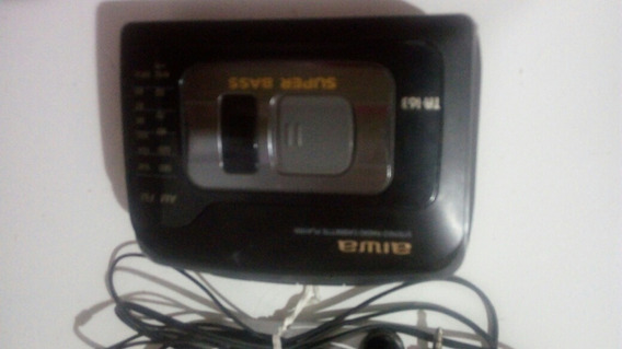 Stereo Radio Cassette Player Aiwa Ta 163 Super Bass.