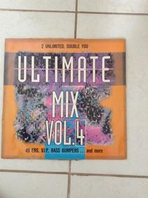 Disco Vinil Ultimate Mix Vol 4 Eurodance Double You 2 Unlimi