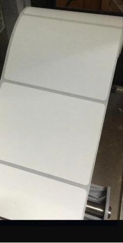 Etiqueta Termica 100x100 No Usa Cinta Para Impresora Termica