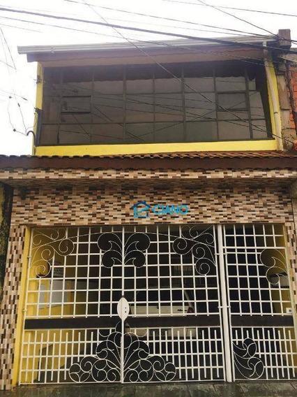 Sobrado Com 4 Dormitórios À Venda, 200 M² Por R$ 360.000 - Jardim Vila Carrão - São Paulo/sp - So0311