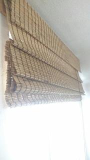 Persiana Romana De Bambú