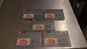 Cinco Fitas Cassete Basf Cromo Extra Ii - 60