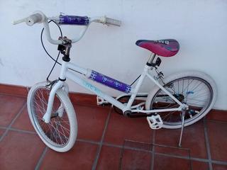 Bicicleta Rodado 20 Para Niña Usado