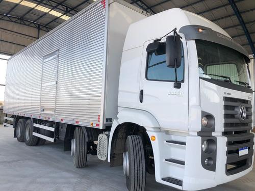 Imagem 1 de 14 de Caminhão Vw 30.330 Baú Bitruck 8x2 - 30330 Bi-truck 0km Novo