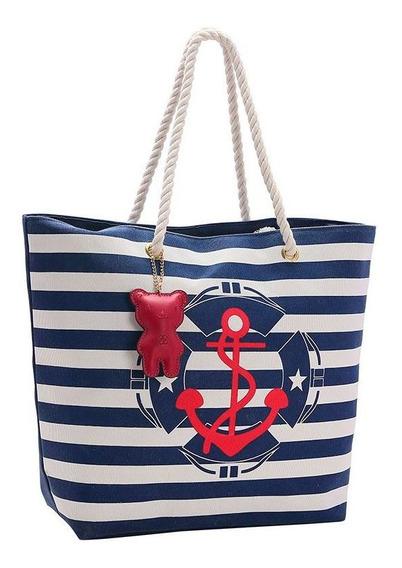 Bolsa De Praia Chenson 82751 Azul