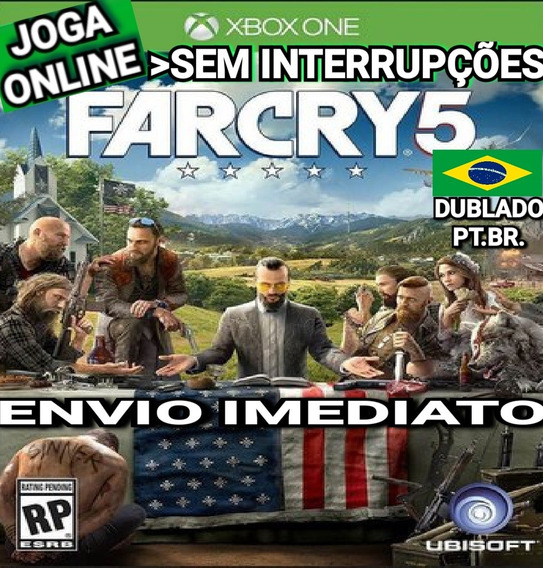 Far Cry 5 Farcry5 Xbox One Online Digital Original Dublado