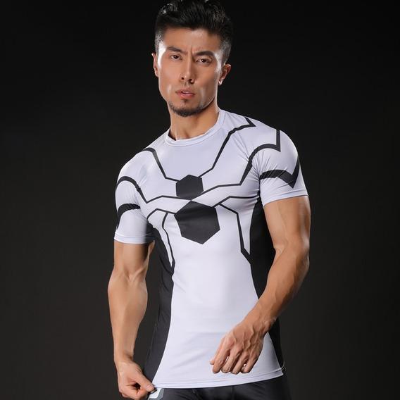 Camisa Comp Homem-aranha Fundação Futuro Pronta Entrega