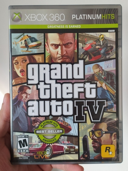 Jogo Gta 4 Iv Original Em Mídia Física Para Xbox 360