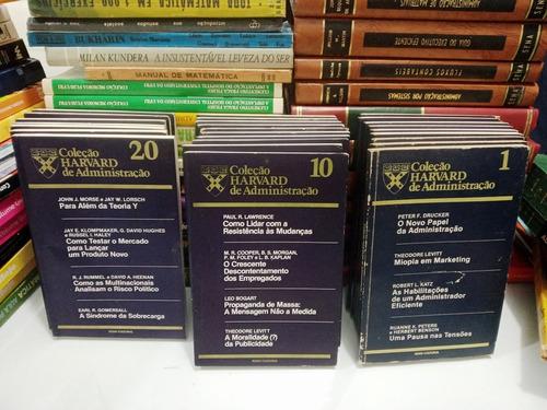 Lote Coleção Harvard De Administração