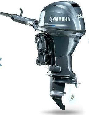Motor De Popa Yamaha 40hp Fehd # 4tempos # Partida Elétrica