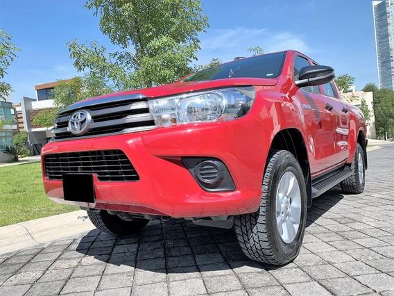 Toyota Hilux Sr Doble Cabina 4x2 2018