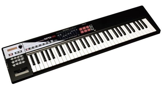 Teclado Roland Xps10 61 Teclas Sintetizador Xps-10 Preto.