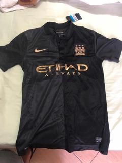 Camiseta Manchester City 21 Fernandinho Original Nova