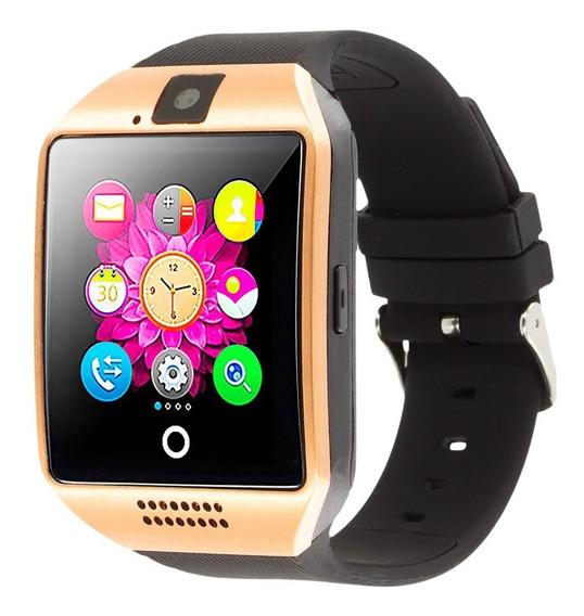 Reloj Inteligente Smartwatch Q18 S Camara Micro Sd Bluetooth