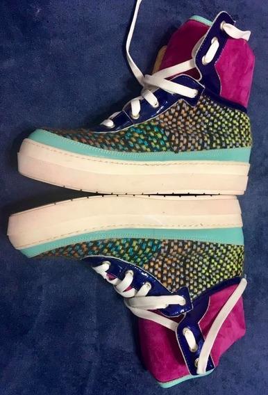 Originales Zapatillas Botitas , Súper Cancheras !!! Nuevas