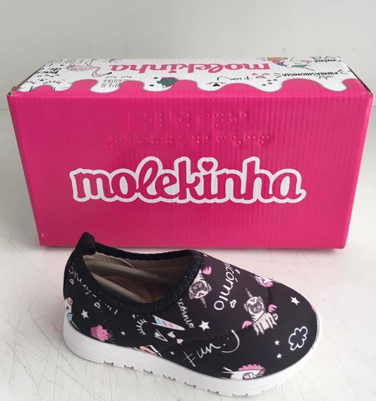 Tênis Infantil Feminino Molekinha Ref-2128.103