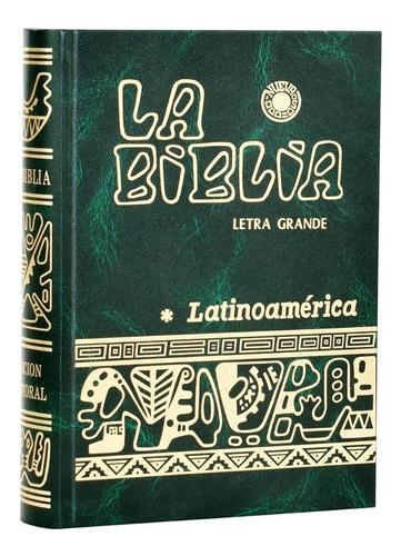 Biblia Católica - Letra Grande - Latinoamericana - Tapa Dura