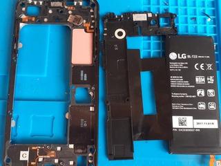 Carcaça Com Coponentes +bateria Lg K6