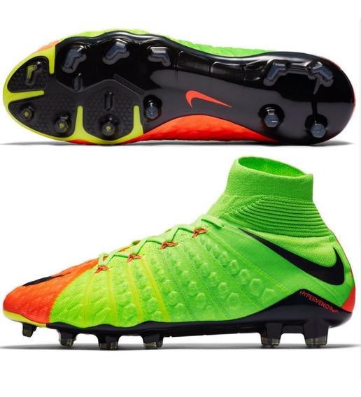 Botin Nike Hypervenom Phantom Iii Df Fg Futbol Profesional