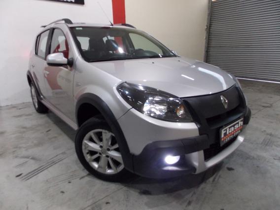 Renault Sandero 1.6 2013 Aut Flex Stepway + Couro + Midianav