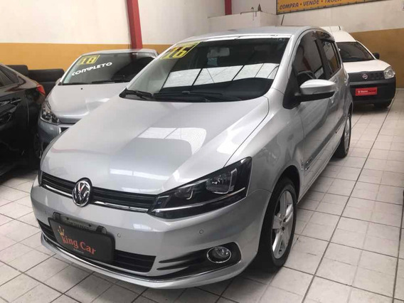 Vw Fox 1.6 Msi Highline Automático 2016 Kingcar Multimarcas