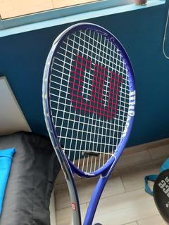 Raqueta De Tenis Wilson Federer Azul