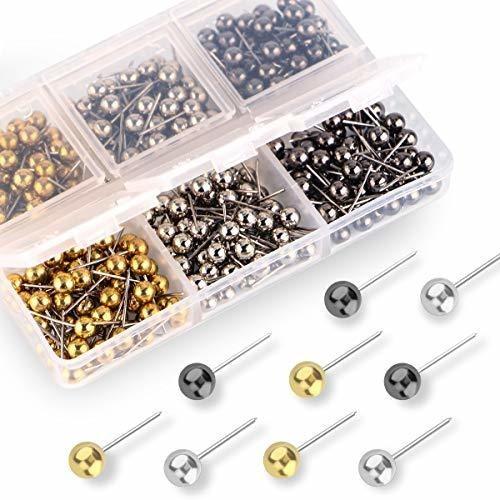 Push Pins Mapa Tachuelas 1 8 Pulgadas Retro Perlas De C...