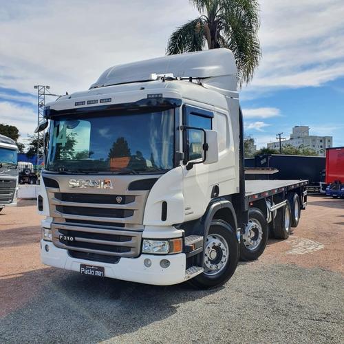 Imagem 1 de 15 de Caminhão Bitruck Scania P310 8x2 2014 - Bi-truck 4 Eixos