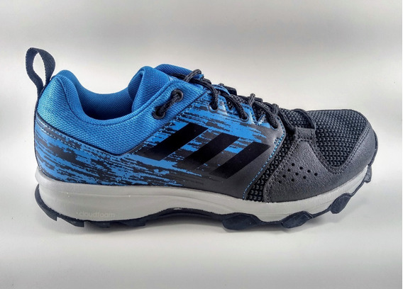 Tênis adidas Galaxy Trail Masculino Preto/azul
