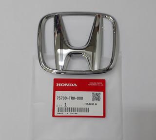 Emblema Da Grade Dianteira H Original Honda Civic 2012-2016