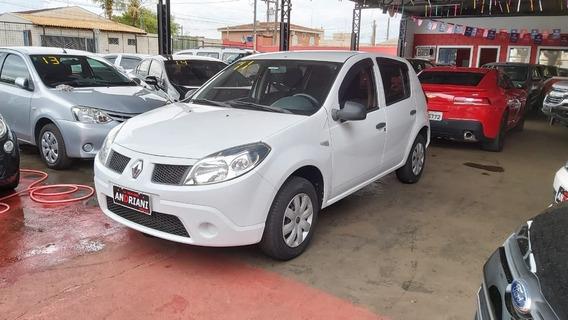 Renault Sandero Authentique 1.0 Branco 2011