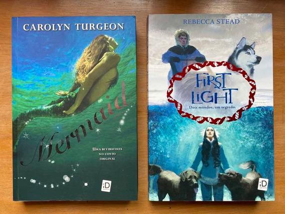 Livro Mermaid E First Light Dois Mundos Um Segredo