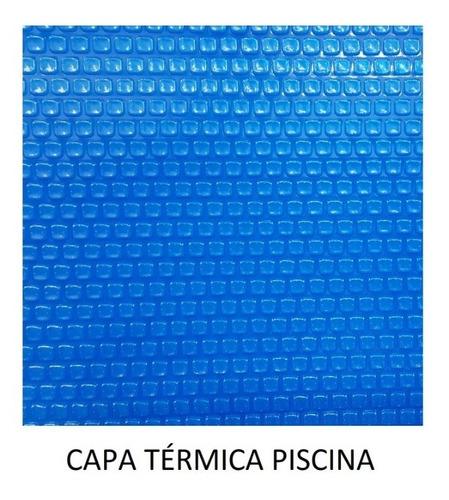Capa Térmica Piscina 7,50 X 2,50 - 300 Micras - Azul