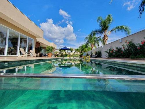 Casa Com 4 Dormitórios À Venda, 450 M² Por R$ 5.000.000,00 - Condomínio Terras De Siena - Santa Bárbara D'oeste/sp - Ca0959