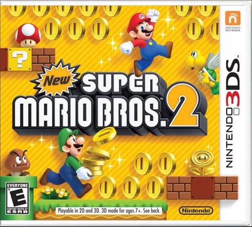 ..:: New Super Mario Bros 2 ::.. Para Nintendo 3ds Y 3dsxl