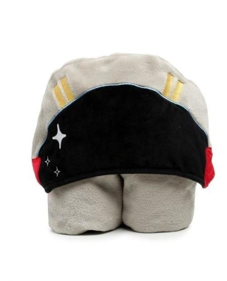 Manta Infantil Cobertor Com Capuz Astronauta Em Flannel