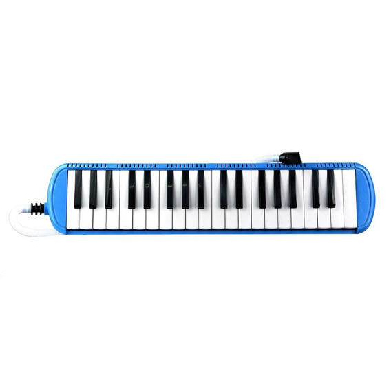 Escaleta Pianica 37 Teclas Csr Imperdível Azul