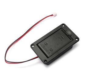 Caixa Compartimento Case Box Bateria 9v Baixo Guitarra