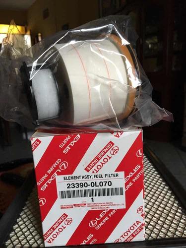 Imagen 1 de 2 de Filtro Petroleo Toyota Oem 23390-0l070 0l070 Original Hilux